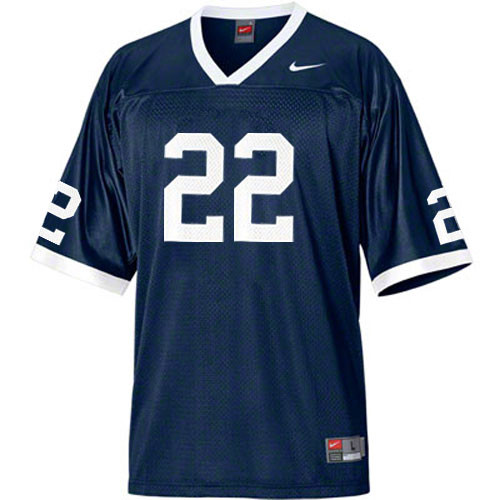 Women's Nike  #22 Navy Blue Replica Jersey (T.J. Rhattigan)