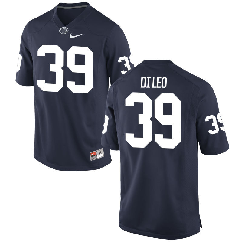 Youth Nike  #39 Replica Navy Penn State Nittany Lions Alumni Football Jersey (Frank Di Leo)